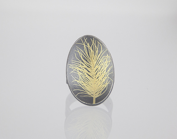 Feather Statement Ring