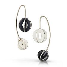 Yin Yang Jemloch Earring by Samantha Freeman (Silver Earrings)