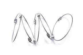 Slinky Cuff by Meghan Patrice  Riley (Steel Bracelet)