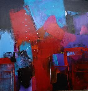 Upward Movement 1 by Nicholas Foschi (Acrylic Painting)