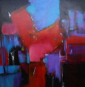 Upward Movement 2 by Nicholas Foschi (Acrylic Painting)