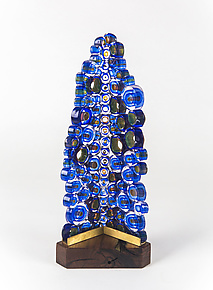 The Edge by Mark Wentz (Art Glass Sculpture)