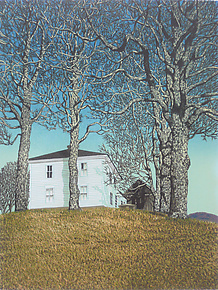 Halifax House by William Hays (Linocut Print)