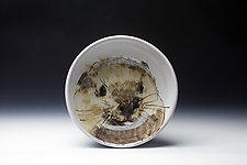 Otter Bowl by Eileen de Rosas (Ceramic Bowl)