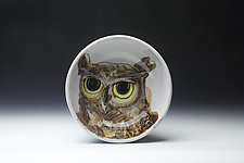 Owl Bowl by Eileen de Rosas (Ceramic Bowl)