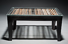 Mixed Metal Coffee Table by Jeffrey Brown (Metal Coffee Table)