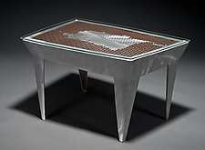 Jetsons Coffee Table by Jeffrey Brown (Metal Coffee Table)