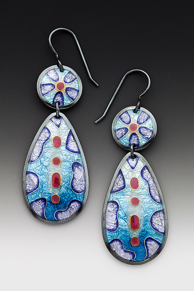 Two-Piece Cobblestone Earrings
