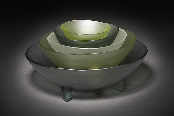 5 Spike Bowl Set in Neutrals
