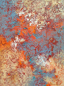Incandescent by Nancy Eckels (Acrylic Painting)