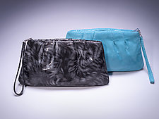 Kayla Clutch by Michelle  LaLonde  (Leather Clutch)