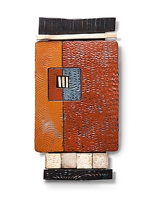 Tile Shard by Rhonda Cearlock (Ceramic Wall Sculpture)