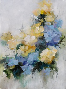 From the Garden by Karen  Hale (Acrylic Painting)
