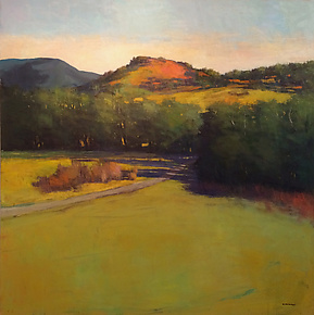 Valley Path by David Skinner (Acrylic Painting)