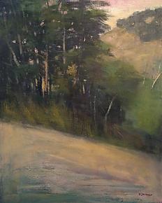 Tonal Ridge by David Skinner (Acrylic Painting)