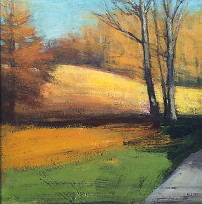 Autumn Path by David Skinner (Acrylic Painting)