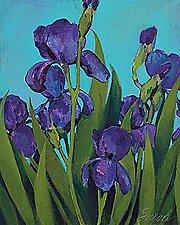 Iris by Sarah Samuelson (Giclee Print)