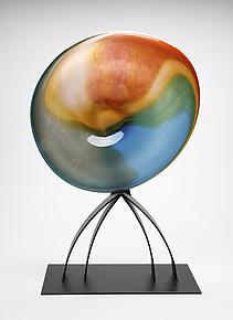 Mangrove by Janet Nicholson and Rick Nicholson (Art Glass Sculpture)
