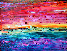 Sunset by Filomena Booth (Acrylic Painting)