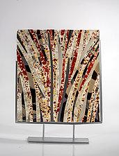 Last of Autumn by Varda Avnisan (Art Glass Sculpture)
