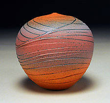 Sunset Topography by Nicholas Bernard (Ceramic Vessel)