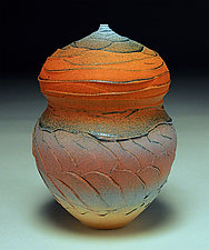 Spirals and Facets by Nicholas Bernard (Ceramic Vessel)