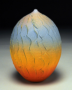 Layered Facets by Nicholas Bernard (Ceramic Vessel)