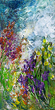 Wild Garden by Marsh Scott (Acrylic Painting)