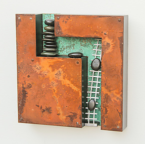 Movin' On Up by Jamie Jensen (Metal Wall Sculpture)