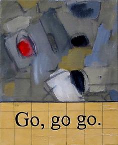 Go, Go Go by Diane Walker-Gladney (Acrylic Painting)