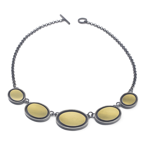 Five-Oval Necklace
