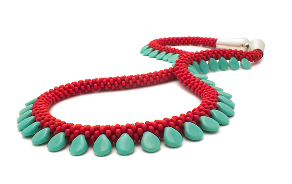 Drop Beaded Necklace