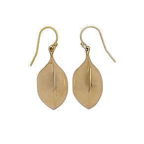 Bronze Amulet Earrings by Julie Cohn (Bronze Earrings)