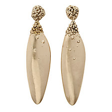 Salvia Earrings by Julie Cohn (Bronze Earrings)