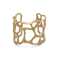 Bronze Fan Coral Cuff by Julie Cohn (Bronze Bracelet)