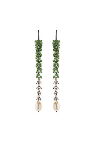 Undina Talora Earrings by Michelle Pajak-Reynolds (Silver & Stone Earrings)