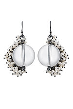 Large Venus Drop Earrings by Michelle Pajak-Reynolds (Silver & Stone Earrings)