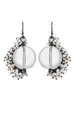 Large Venus Drop Earrings by Michelle Pajak-Reynolds (Silver & Stone Earrings)