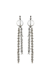 Venus Dangle Earrings by Michelle Pajak-Reynolds (Silver & Stone Earrings)