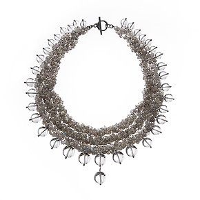 Luna Necklace by Michelle Pajak-Reynolds (Silver & Stone Necklace)