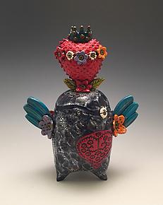 Soaring Love by Lilia Venier (Ceramic Vessel)
