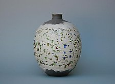 Inlaid Glass No.2 by Paul  Schneider (Ceramic Vase)