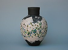 Inlaid Glass No. 3 by Paul  Schneider (Ceramic Vase)