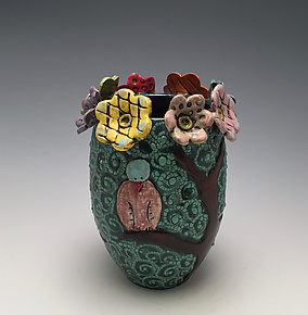 Spring Season by Lilia Venier (Ceramic Vase)