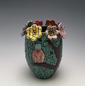 Spring Season by Lilia Venier (Ceramic Vase)