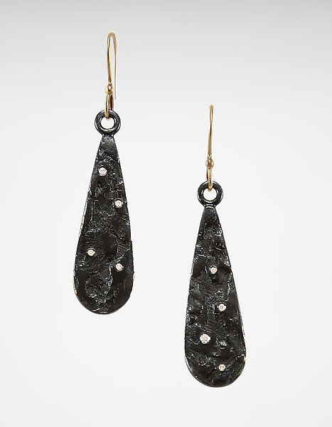 Ancient Earrings with Diamonds