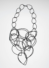 Cascade Necklace by Megan Auman (Steel Necklace)