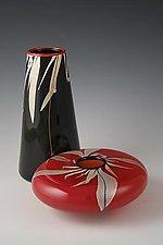 Grass Vases by Richard S. Jones (Art Glass Vase)