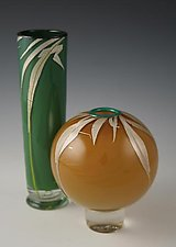 Grass Vases by Richard S. Jones (Art Glass Vase)