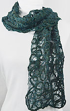 Threadwork Scarf 774 by Andi Shannon  (Stitched Scarf)